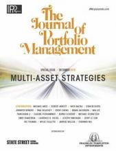 The Journal of Portfolio Management Multi-Asset Special Issue 2019