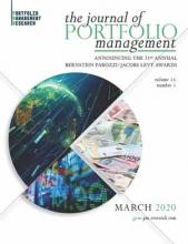 The Journal of Portfolio Management, Multi-Asset Special Issue (March 2020)