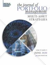 The Journal of Portfolio Management, Multi-Asset Special Issue June 2020