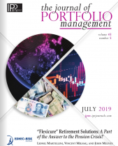 The Journal of Portfolio Management (July 2019)