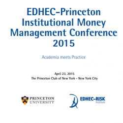 eDHEC Princeton Institutional Money Management conference 2015