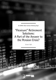 Publication - Flexicure Retirement Solutions: A Part of the Answer to the Pension Crisis?