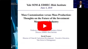 Webinar Mass Customization Versus Mass Production in Investment Management