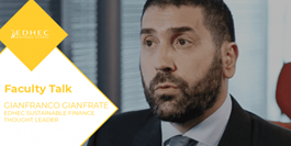 Interview with a Thought Leader in Sustainable Finance, Gianfranco Gianfrate