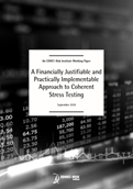A Financially Justifiable and Practically Implementable Approach to Coherent Stress Testing