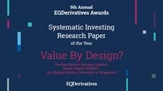 Bernd Scherer, Research Associate at EDHEC-Risk, Winner of the 2020 Best Systematic Investing Research Paper of the Year