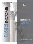 Journal of Fixed Income - Summer 2019