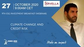 Gianfranco Gianfrate speaking on climate change and credit risk on 27 October