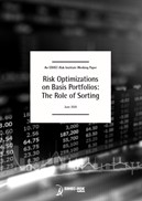 Risk Optimizations on Basis Portfolios: The Role of Sorting