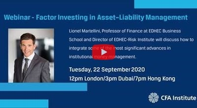 CFA webinar: Factor Investing in Asset–Liability Management