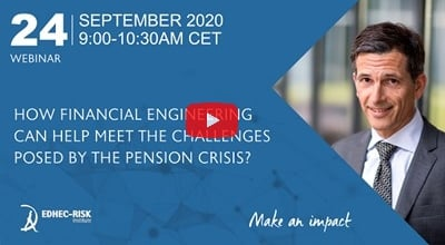 How Financial Engineering can Help Meet the Challenges Posed by the Pension Crisis