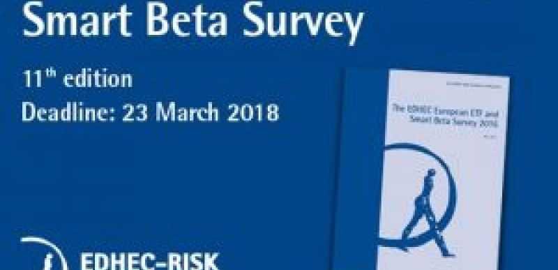 EDHEC European ETF and Smart Beta Survey 2018